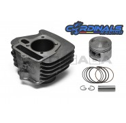 Cardinals Racing Big Bore Cylinder Kit - Honda C100 Dream/Wave100  -53mm (110cc)