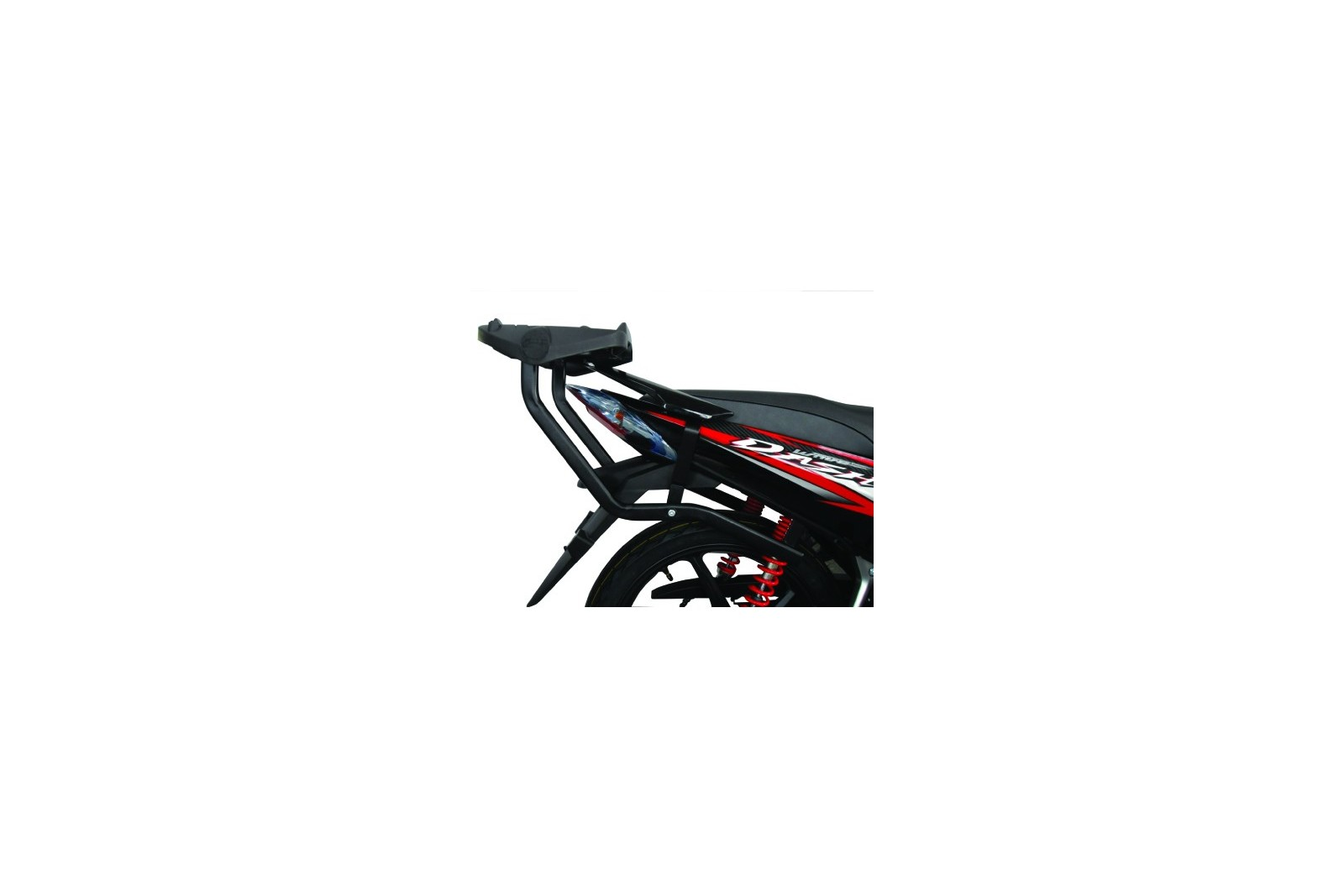 Givi HR3 Top Box Luggage Rack with Mounting Plate - Honda Wave 110/110i /Wave RS/RSX/Dash/Blade