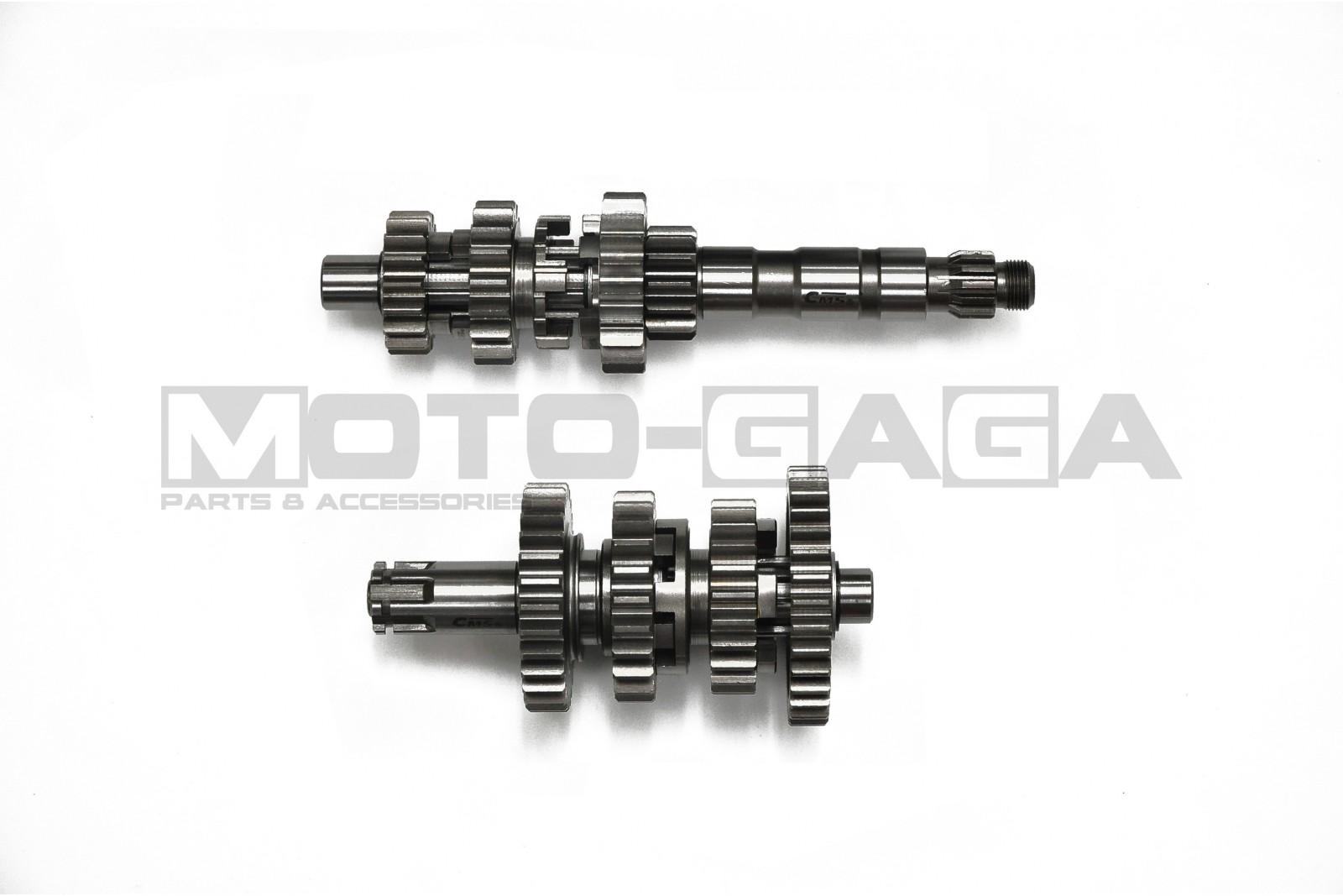182 Cms Racing Close Ratio Gearbox Yamaha T135 4 Speed Hand Clutch