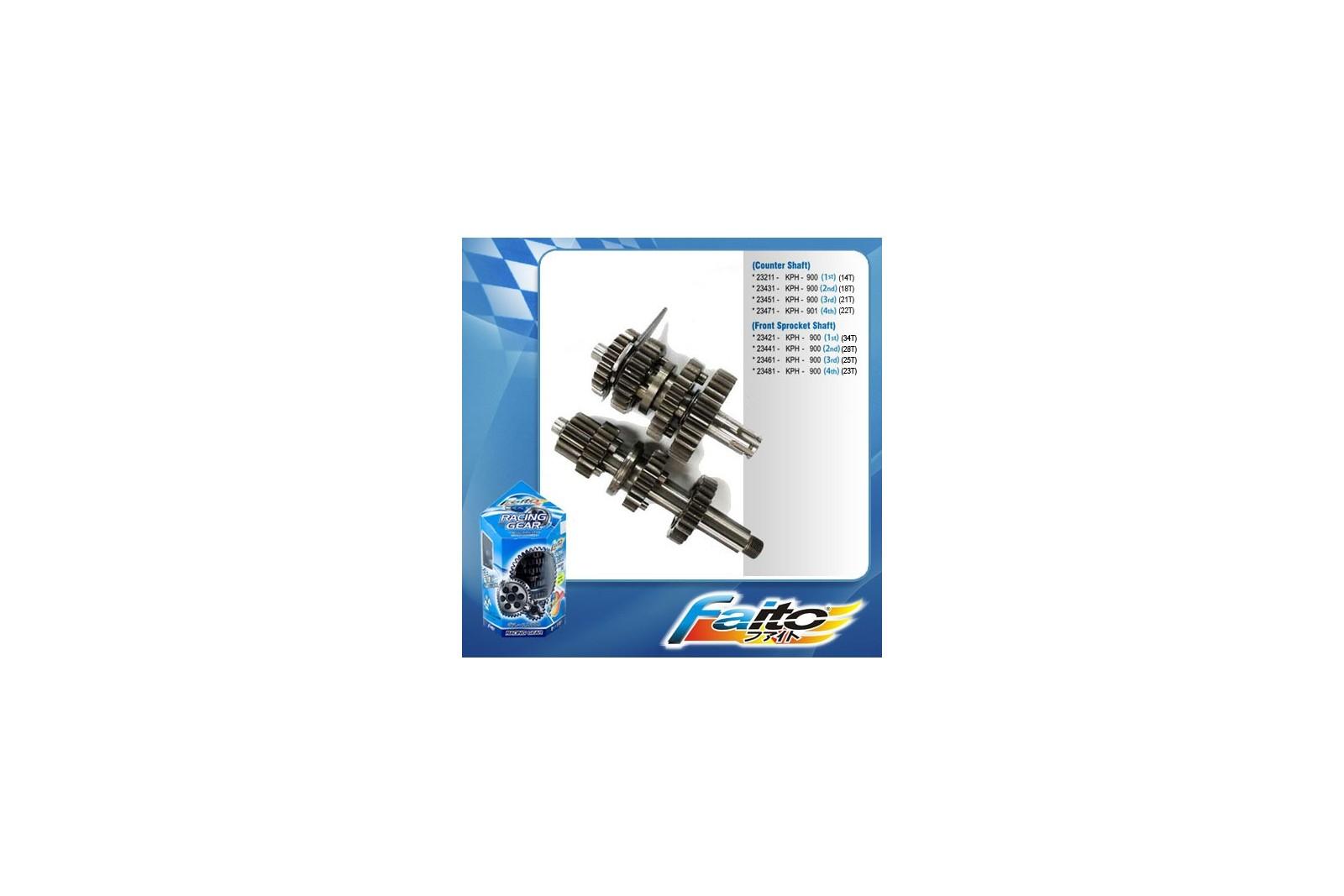 Faito Close Ratio Racing Gearbox - Honda Wave 110 /Wave RS/RSX/Dash
