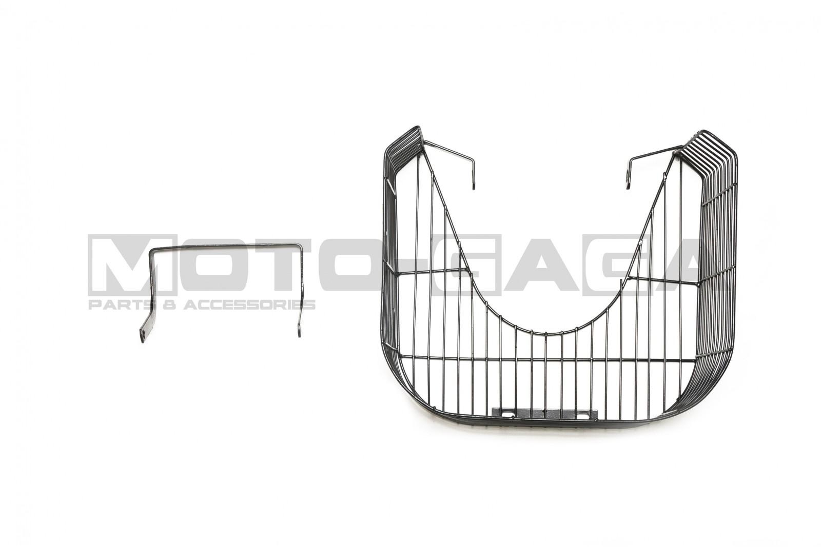 102 Yamaha Z125 Metal Legshield Luggage Basket