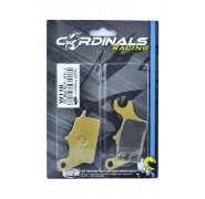 Cardinals Racing Replacement Front Brake Pads - Honda Wave 110
