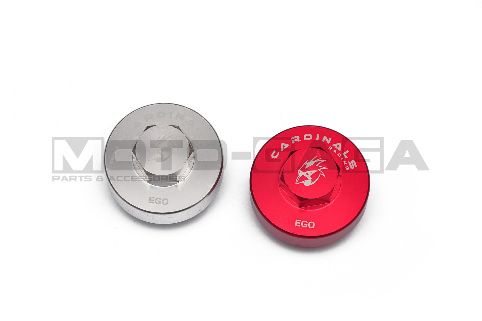 Cardinals Racing Magnetic Engine Oil Drain Plug - Yamaha  Ego/Mio/Luvias/Nouvo 115 AT Color Red