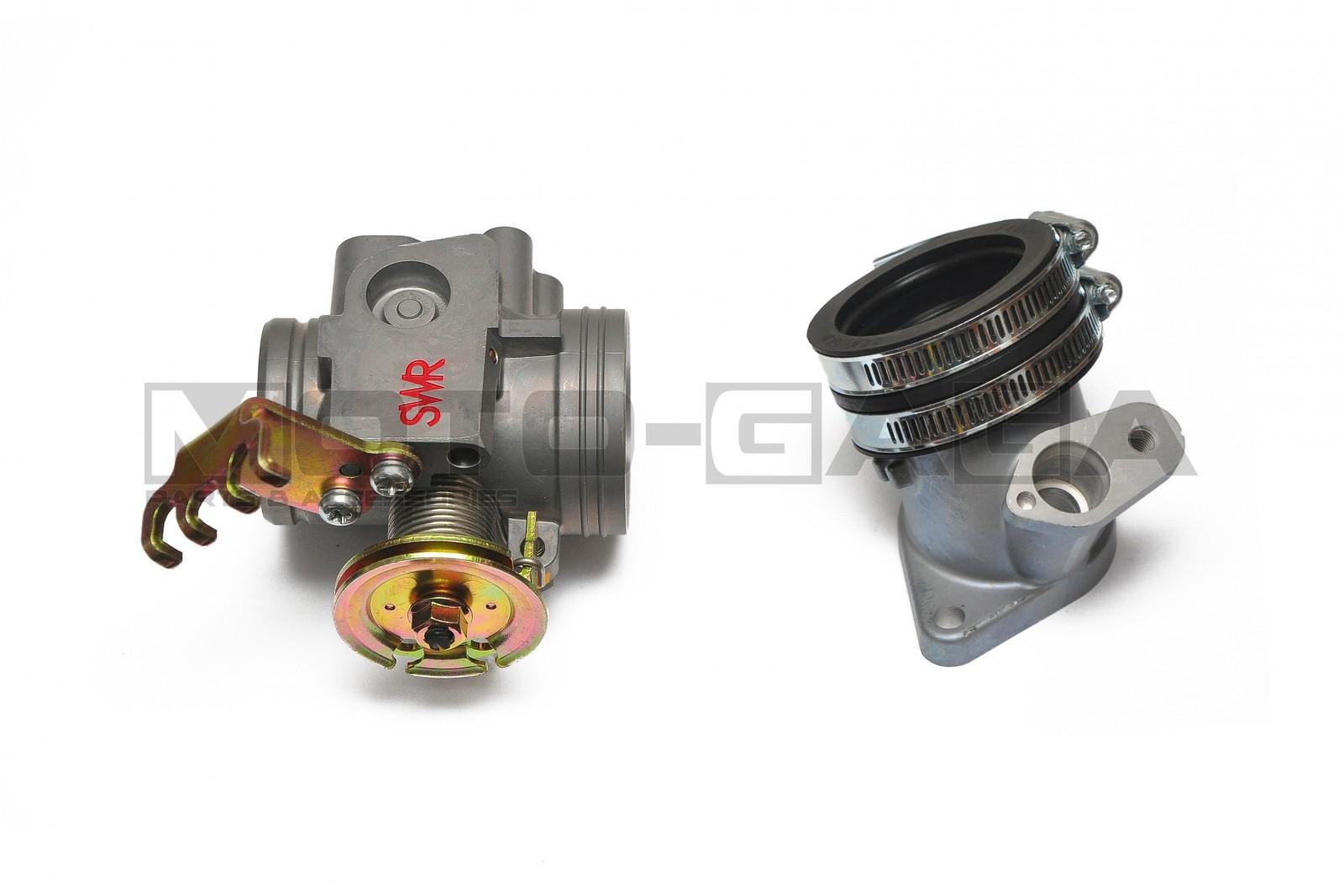 SWR Sunworld Racing Throttle Body - Yamaha Y15ZR/Jupiter MX King/Crypton  X/Spark/Exciter/Sniper T150/Fz150i Vixion 32/34/36mm Size 36mm