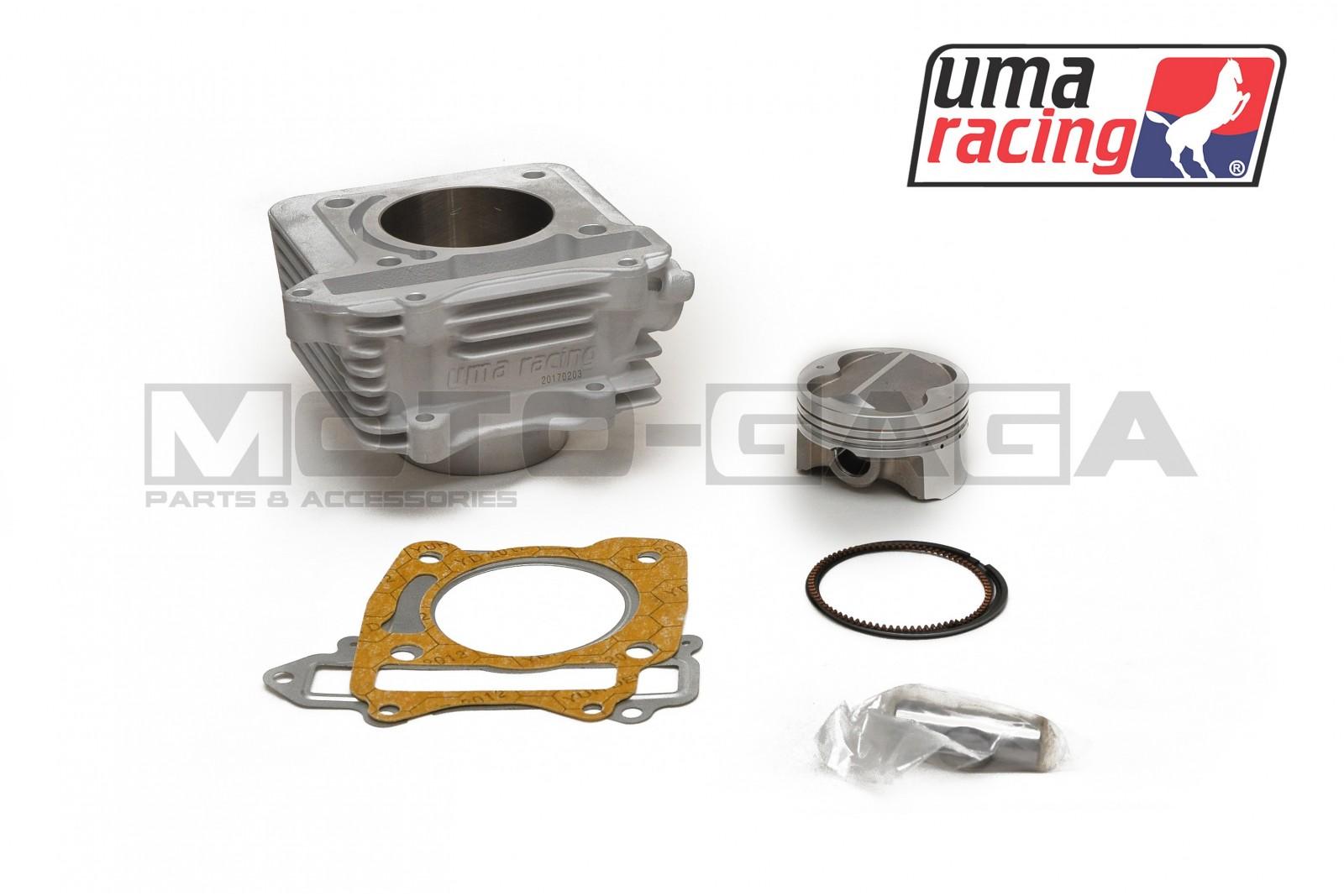 UMA Racing 68mm (177cc) Big Bore Cylinder Kit - Suzuki Raider  150r/Belang/Satria FU150/FX125/FXR150 Options Standard Piston