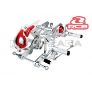 Racing Boy Adjustable Double Footrests/Rearsets - Suzuki Raider 150R