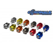 Cardinals Racing Swingarm Slider Spools - 10mm