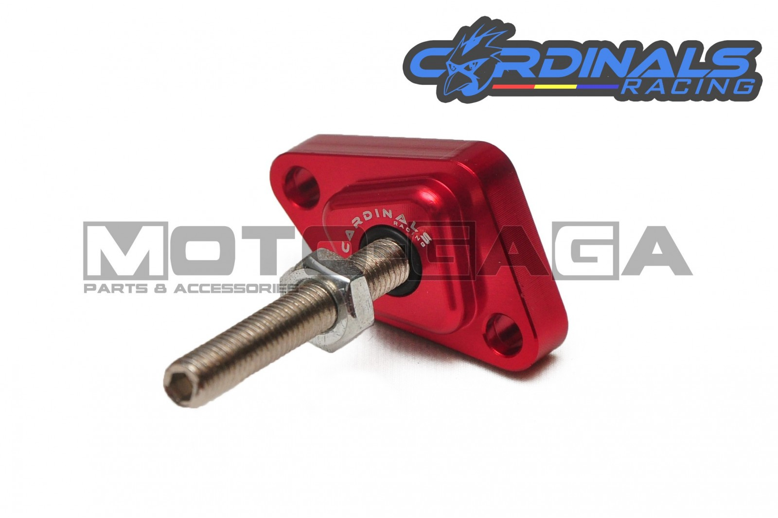 Cardinals Racing Manual Timing Chain Tensioner - Yamaha LC135/Jupiter  MX/Crypton X/Spark/Exciter/sniper/T135/ Fz150i Vixion Color Red