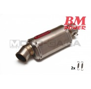 BM Power 4-Stroke Stainless Steel muffler box (TM)
