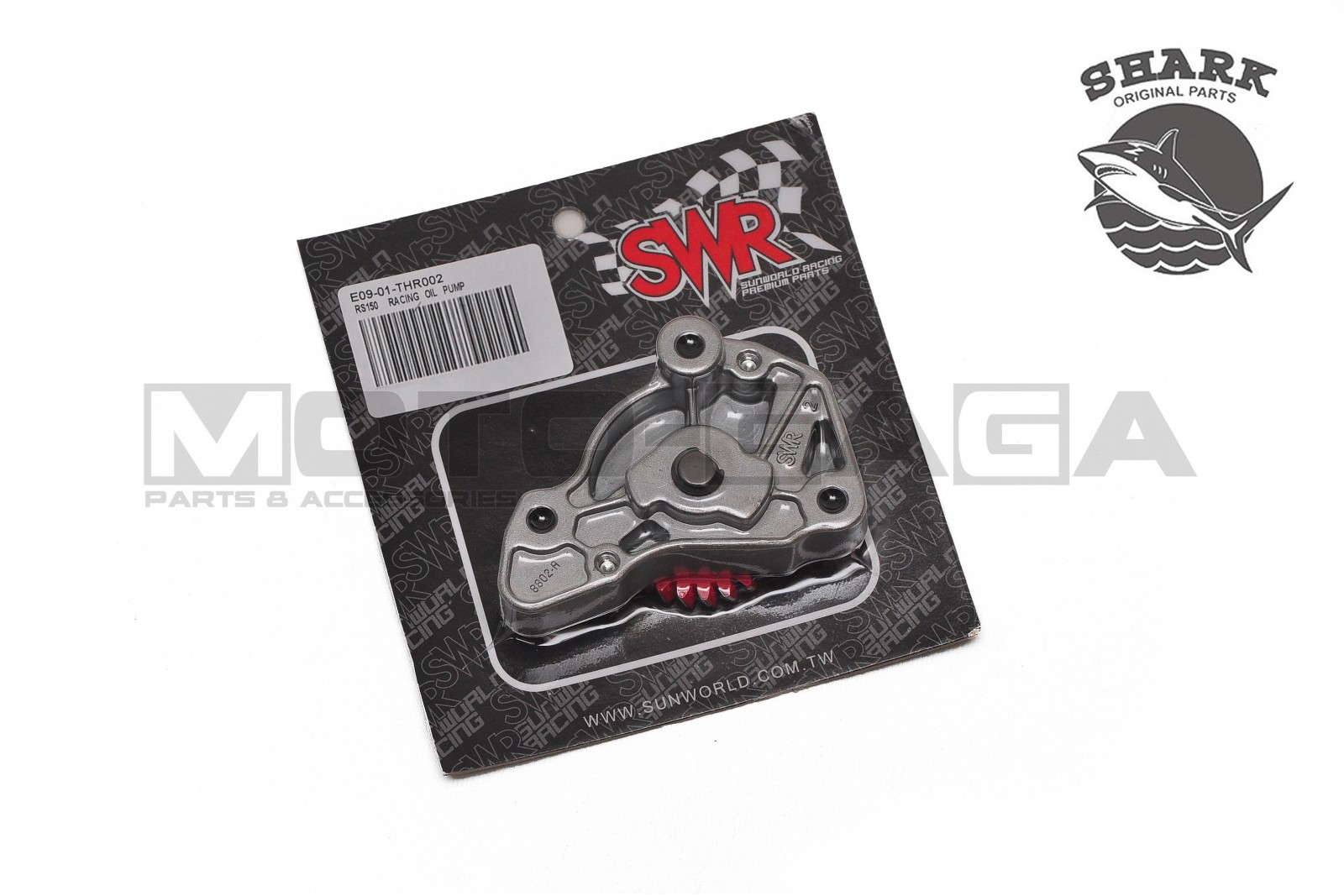 SWR Racing Hi-flow Engine Oil Pump - CBR150/CB150R K45G/  RS150R/Winner/Supra/GTR150/Sonic (2016-)