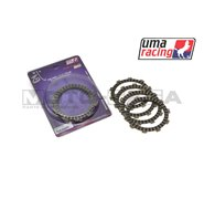 UMA Racing Friction Clutch Plates - Yamaha Fz150i Vixion (2014-17)
