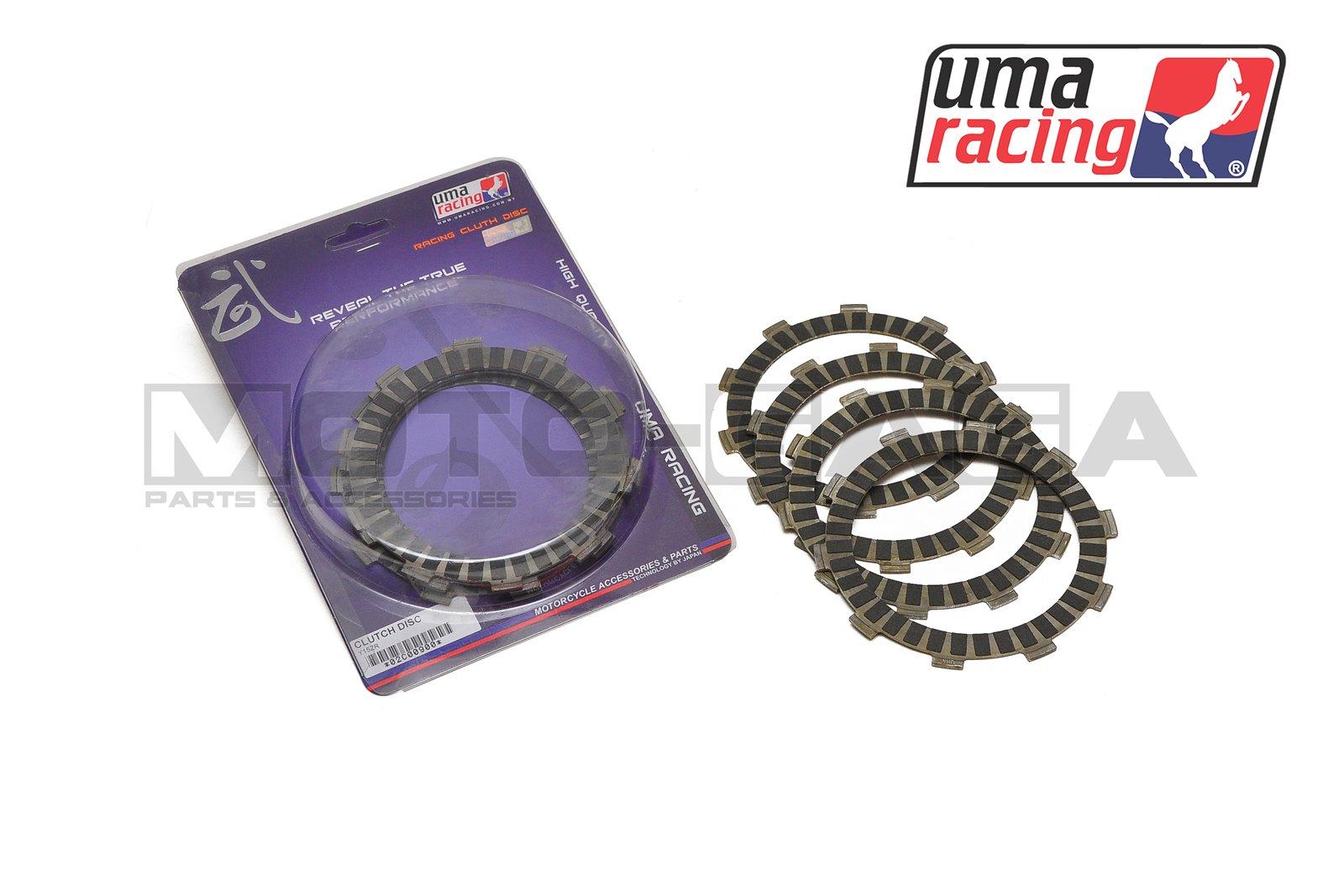 UMA Racing Friction Clutch Plates - Yamaha Fz150i Vixion (2014-17)