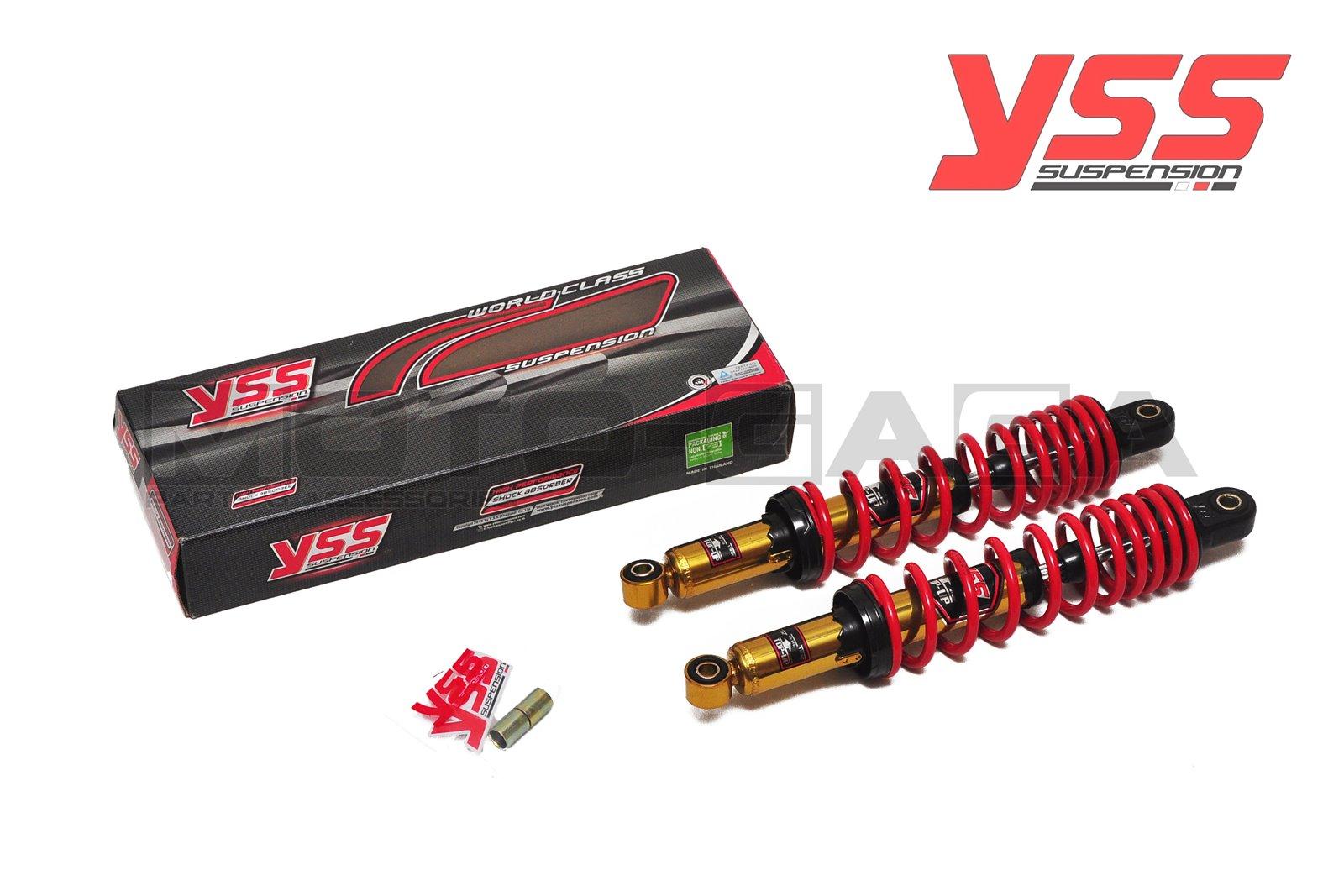 YSS TOP UP Dual Shock Absorbers (280mm) - Universal/Honda/Yamaha