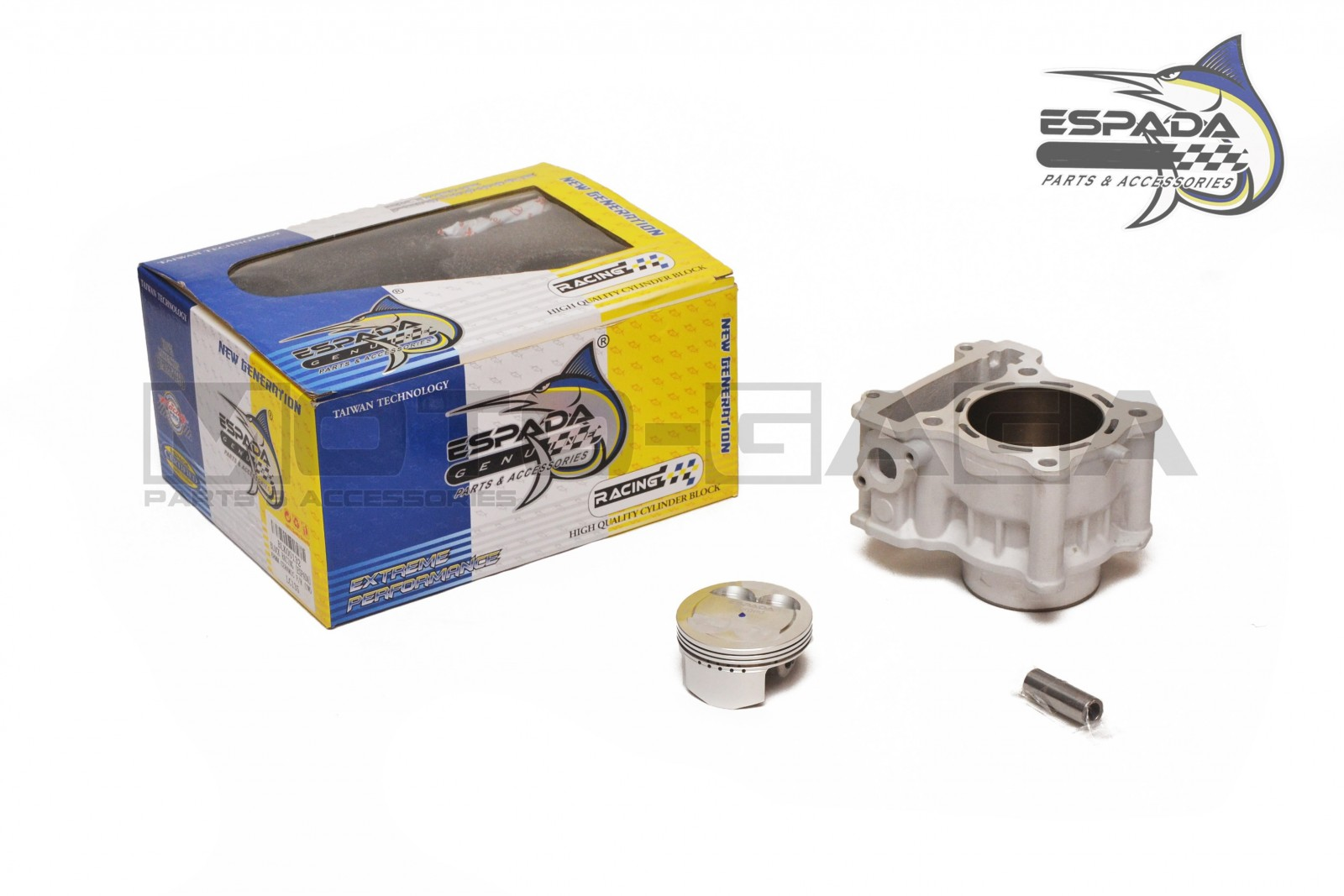 Espada Racing 68mm (213cc) Big Bore Cylinder Kit - Yamaha YZF-R15/Fz150i  Vixion/ MT-15/R125/M-Slaz/ LC135/Y15ZR/JupiterMX T150