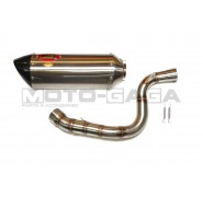 AHM Z1 Slip On Exhaust - KTM RC/Duke 390