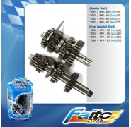 Faito Close Ratio Racing Gearbox - Wave 110