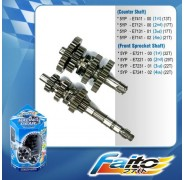 Faito Close Ratio Racing Gearbox - Yamaha T135 4 Speed (Semi Auto)