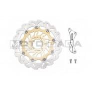 Yamaha T135 300mm Front Brake Rotor Disc Kit (1 piston)